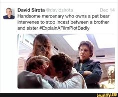 Star Wars Quotes, Star Wars Humor, Funny Memes, Hilarious, Jokes, Movie Plots Explained Badly, Explain A Film Plot Badly, Bad Film, Star Wars Wallpaper