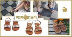 Sono i #sandali più #glamour..tutti realizzati artigianalmente per i primi passi e per i grandi percorsi...#PomdApi in saldo a metà prezzo su www.cocochic.it  http://www.cocochic.it/it/19_pom-d-api