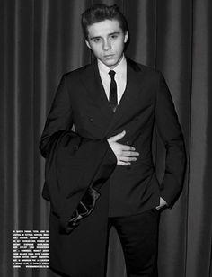 d33eb44e940e Brooklyn Beckham para L Uomo Vogue Julio Agosto 2016