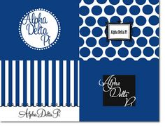 Great Alpha Delta Pi Note Cards from Truly Sisters! http://www.trulysisters.com/alpha-delta-pi-sorority/gifts-stationery/classic-collection-note-cards/