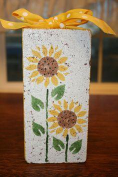 flower doorstop