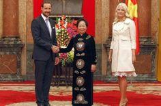 Le prince Haakon et la princesse Mette Marit ont entamé une visite officielle au Vietnam de trois jours