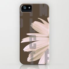 """""""SIMPLICITÉ"""" by ioanna papanikolaou [by-jwp] on society6 -  iPhone & iPod Case - $35.00"""