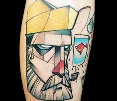 Sailor tattoo by Kati Berinkey