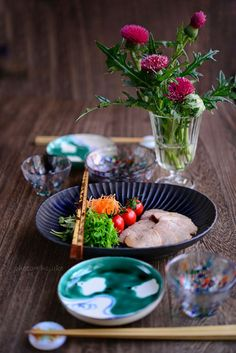 Japanese Dishes, Japanese Food, Sushi Recipes, Asian Recipes, Breakfast For Dinner, Food Presentation, Food Plating, Soul Food, Food Styling