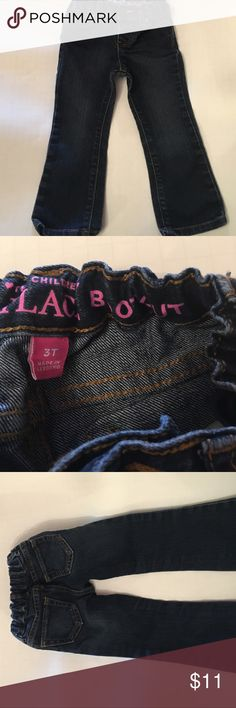 Children's Place 3T bootcut jeans dark denim Cute dark denim bootcut jeans from Children's Place. Size 3T. on. Come from a smoke-free home. Children's Place Bottoms Jeans