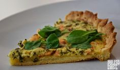 Polish Knife: Quiche z łososiem i kaparami / Salmon and capers quiche