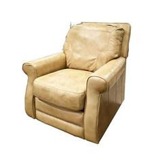 Picture of Brown Leather Recliner