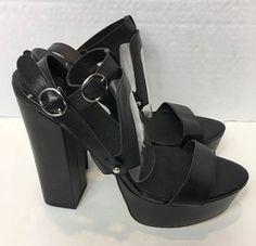 Clubwear Platform & Wedge Solid Heels Women's US Size 9 Club Shoes, Black Platform, Chunky Heels, Clubwear, Asos, Wedges, Sandals, Shopping, Ebay