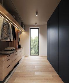 simple home interior design minimalist – Home Design Walk In Closet Design, Bedroom Closet Design, Closet Designs, Home Decor Bedroom, Wardrobe Designs For Bedroom, Walk In Robe Designs, Bedroom Wardrobe, Bedroom Designs, Wardrobe Ideas
