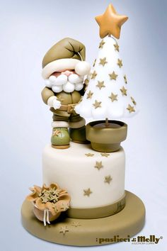 cute topper!!! I Pasticci di Molly Coppini