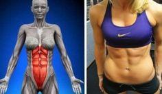 Este ejercicio es más eficaz que 1.000 abdominales: requiere 60 segundos al día y en sólo un mes tu abdomen estara plano!!!!