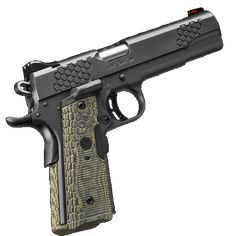 "Kimber KHX Custom 1911 45ACP 5"" Barrel, Hogue Lasergrip, Fiber Optic Front Sight 8rd Mag - Impact Guns"