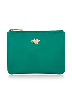 Bobby Bee Charm Zip Top Purse | Blue | Accessorize