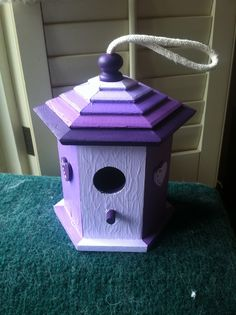 Carolyn's birdhouse