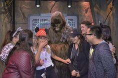 Literally had a fangirl moment yesterday meeting Chewie  #disneyland #starwars #chewbacca #annualpassholder by viridiana_enriquezz