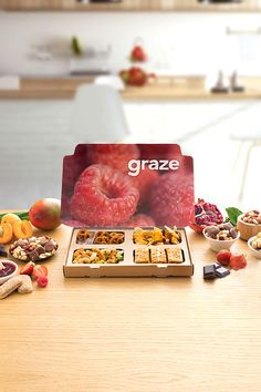 Make every snack you eat worthwhile. With no artificial flavors or GMOs, graze can help you do just that. Graze is a subscription box service of wholesome, delicious snacks. Each box has perfectly portioned snacks tailored to your taste preferences and dietary requirements. With over 100 unique flavor combinations, we have good snacks everyone can feel excited about.  Sign-up and get your first box for free!