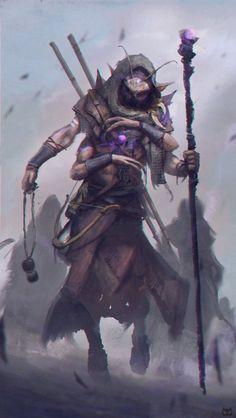 Shaman by Darkcloud013 on DeviantArt