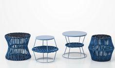Saba Italia - azul petróleo (designer Emilio Nanni para coleção Ziggy)