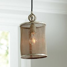 ...and this one too..3 of them over the island in the kitchen!!! Geneva 1-Light Pendant