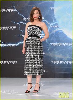 Emilia Clarke Debuts Short Haircut at 'Terminator: Genisys' Berlin Premiere!