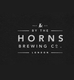 horns thumb 20 most beautiful Retro and vintage logo designs