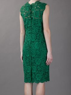VALENTINO - fitted lace dress 4