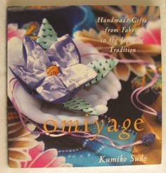 SALE  Craft Pattern Book  Omiyage  by MourningDoveQuilts on Etsy, $12.00