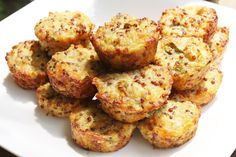 Best of Long Island and Central Florida: Jalapeno Popper Quinoa Bites