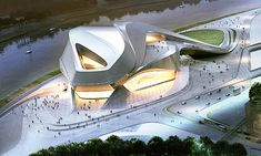 Chengdu Contemporary Arts Center Zaha Hadid Architect