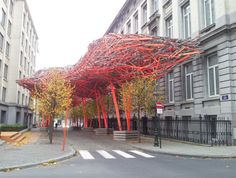 The Sequence, a Urban Sculpture by Arne Quinze