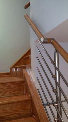 Best Wall Mount Modern Stair Hand Rail Staircase Railing Kit 400 x 300