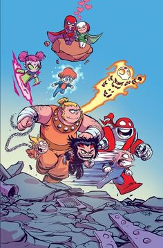 Age of Apocalypse #1 by Skottie Young