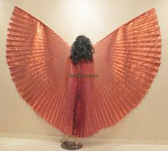 Pretty Copper  Lame Bellydance Costume ISIS WINGS by isisbazaar, $19.00