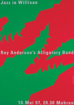 Niklaus Troxler, 1997 - Ray Anderson Alligatory Band