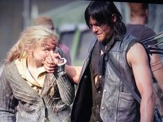 """Emily e Norman ao fim das gravações da MSF """"Coda"""""""