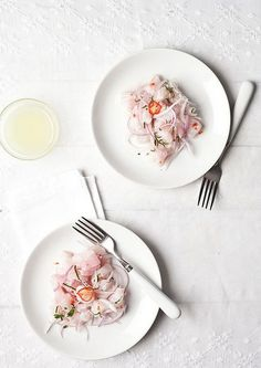 ceviche jimena by Cuquin Magazine, via Flickr // food photography, food styling
