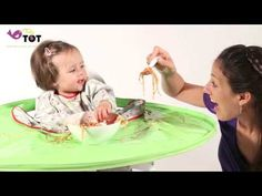 The 'must have' product for baby weaning. Eliminates mealtime mess and creates a perfect platform for messy mealtimes and playtimes.