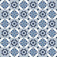 Azulejo português para imprimir