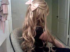 #Cabelo #Hair #Penteado #Hairstyle #Laço