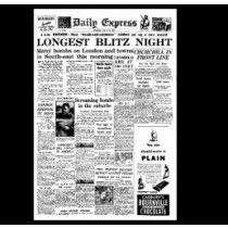 London Blitz - 29th August - Express (1940)