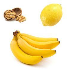 Ricetta per la preparazione di un Centrifugato Antistress alle Noci con una Banana e un Limone. Scopri anche gli altri Centrifugati.