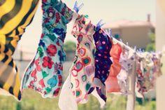 5 Razões para usar Fraldas Reutilizáveis