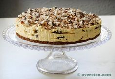 Bokkenpootjestaart (3) Dessert Cake Recipes, Pie Dessert, Frosting Recipes, Sweet Desserts, No Bake Desserts, Delicious Desserts, Yummy Food, Food Vans, Brunch