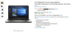 HP 15-BA001AX 15.6-inch Laptop
