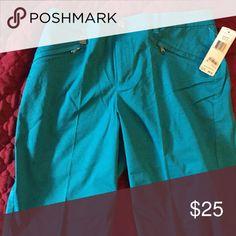 Ralph Lauren golf shorts. Long golf shorts. Never worn. Size 10 bright turquoise. Ralph Lauren. Ralph Lauren Shorts Bermudas