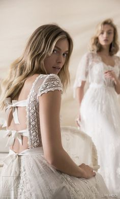 Wedding Dresses by Lihi Hod Fall 2018 Couture... - ℓυηα мι αηgєℓ ♡