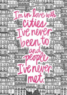 edwardspoonhands:  pichuza:John Green, Paper Towns                      Aaaaaactually, Melody…this Tumblr. You don't have to be famous to have a famous quote. I super-love this design though.  And alsoooo, this design is made by my friend raphimartelino. Let's credit all the right people :-)