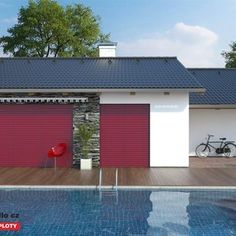 Venkovní žaluzie C80 VSR 330 Windows, Outdoor Decor, Home Decor, Red, House, Decoration Home, Room Decor, Home Interior Design, Ramen