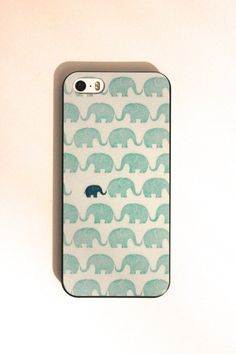 Baby and Mamma Elephant Soft iPhone 6 Case